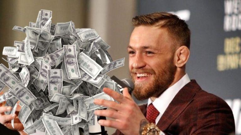 Conor McGregor inkomst