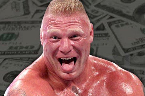Brock Lesnar rik
