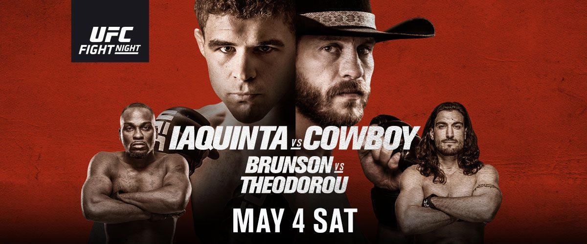 UFC ottawa matchkort