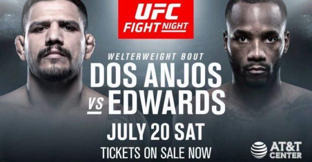 UFC on ESPN 4 Matchkort