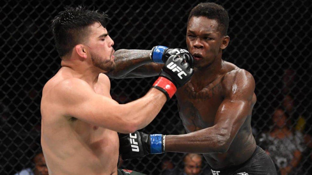 Israel Adesanya Kelvin Gastelum UFC 236