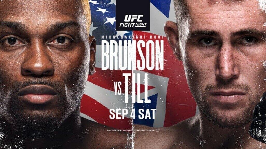 UFC Vegas 36 Brunson vs Till